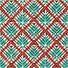 Векторный клипарт: Ретро геометрический узор. Абстрактный бесшовные