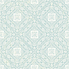 Векторный клипарт: Ручной обращается синий абстрактный узор
