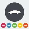 Векторный клипарт: Автомобильная икона