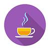 Векторный клипарт: Чашка чая