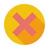 Векторный клипарт: Удалить кнопку