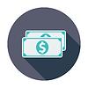 Векторный клипарт: Доллар монеты