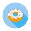 Векторный клипарт: Donut значок