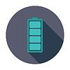 Векторный клипарт: Полная батарея