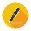 Векторный клипарт: Примечания одна иконка