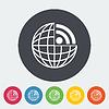 Векторный клипарт: RSS иконка