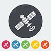 Векторный клипарт: Спутник