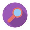 Векторный клипарт: Поиск одна иконка