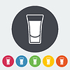 Векторный клипарт: Выстрел напиток