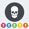 Векторный клипарт: Anotomy черепа