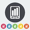 Векторный клипарт: Смартфон значок