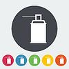Векторный клипарт: Спрей с химикатами