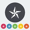 Векторный клипарт: новогодняя звезда