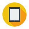 Векторный клипарт: Tablet PC значок