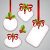С Рождеством Христовым карты и С Новым Годом теги | Иллюстрация