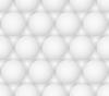 abstrakter grauen Blasen Nahtlose sechseckigen Muster