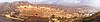 Indyjska punkty orientacyjne - panorama z Amber Fort, jeziora | Stock Foto