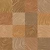 Abstrakt einfache geometrische Holz wie Muster -