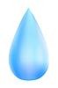 Векторный клипарт: Голубые капли. Эко. Illustratio