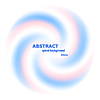 Abstract spiral background - rotation of two | Stock Vector Graphics