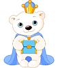 Eisbär als biblischen Weisen