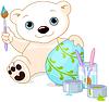 Ostern Eisbär
