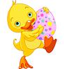 Ostern Entlein Carry Egg