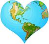 Erde Herzen
