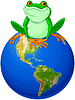 Frog Tag der Erde