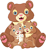 Bärchen-Familie