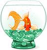 Goldfish im Aquarium