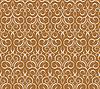 Векторный клипарт: Повторяющийся узор на коричневом. бесшовные обои