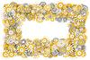 ID 4719408 | Ramki z kwiatów rumianku | Stockowa ilustracja wysokiej rozdzielczości | KLIPARTO
