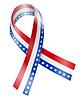 Векторный клипарт: Лента Флаг
