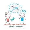 plastischer Chirurg sagt über den Betrieb und die Patienten