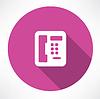 Festnetz-Telefon-Symbol