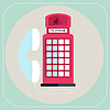 rote Telefonzelle Symbol