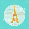 Eiffelturm Paris Symbol