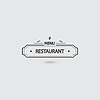 ID 4602134 | Restaurant Menü-Symbol | Stock Vektorgrafik | CLIPARTO