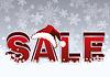 Векторный клипарт: Рождественские продажи карты