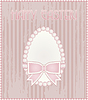 Glückliche Osterei Vintage-Karte, Vektor-Illustration