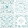Conjunto de patrones sin fisuras - Guilloche ornamental | Ilustración vectorial