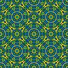 Fondo cuadrado - sin patrón ornamental | Ilustración vectorial