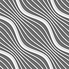 3D斜条纹波 | 向量插图