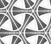 3D-grau gefärbt gestreift Dreiecksgitter | Stock Vektrografik
