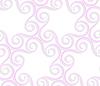 3D-rosa gefärbt Spiralen im Kreis | Stock Vektrografik