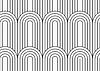 Wohnung grau mit strukturierter Archen mit weiterhin Linien