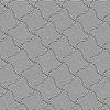 Abwechselnd schwarzen und weißen wellenförmigen dünnen gestreiften