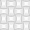 Punktierte Rechtecke mit gestrichelten Bögen | Stock Vektrografik
