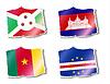Векторный клипарт: флаги мира,